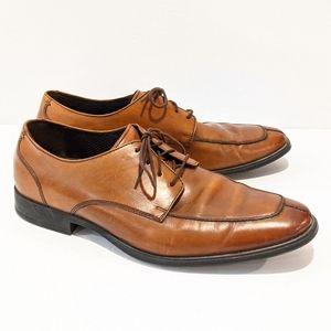 Cole Hann men's brown leather Oxford shoes 9.5